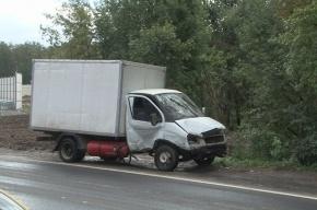 Два человека погибли в аварии на Санкт-Петербургском шоссе