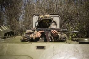 В Славянске день референдума начался со стрельбы