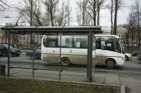 В Петербурге ВАЗ-21099 столкнулся с маршруткой