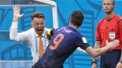 ЧМ-2014: Сборная Голландии разгромила Испанию со счетом 5:1 : Фоторепортаж