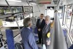 В Петербурге показали новые модели автобуса и троллейбуса: Фоторепортаж
