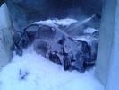 В Пушкине иномарка врезалась в мемориальный комплекс «Непокоренные»: Фоторепортаж