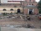 На территории Конюшенного ведомства сносят исторические здания: Фоторепортаж