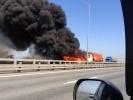 В Петербурге на Кольцевой сгорел бензовоз 6 июня 2014: Фоторепортаж