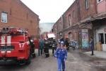 В Петербурге загорелось помещение байкерского клуба Hooligan: Фоторепортаж
