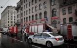 На Лиговском тушили пожар по повышенному номеру сложности 1 июня 2014 : Фоторепортаж