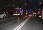 Фоторепортаж: «При пожаре в хостеле на Петроградке эвакуировали более 30 человек»