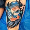Фоторепортаж: «В Петербурге проходит фестиваль тату и боди-арта »