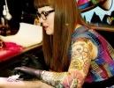 В Петербурге проходит фестиваль тату и боди-арта : Фоторепортаж