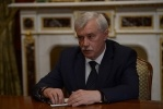Фоторепортаж: «Полтавченко и Путин, 4 июня 2014 (отставка)»