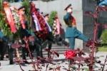 День памяти и скорби открыла церемония на Пискаревском кладбище 22.06.2014: Фоторепортаж