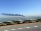 Фоторепортаж: «В Петербурге на Кольцевой сгорел бензовоз 6 июня 2014»