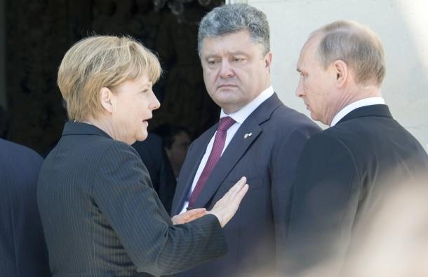 Путин и Порошенко сошлись на прекращении боевых действий на Украине