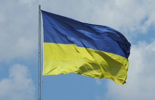 В Москве посольство Украины закидали дымовыми шашками