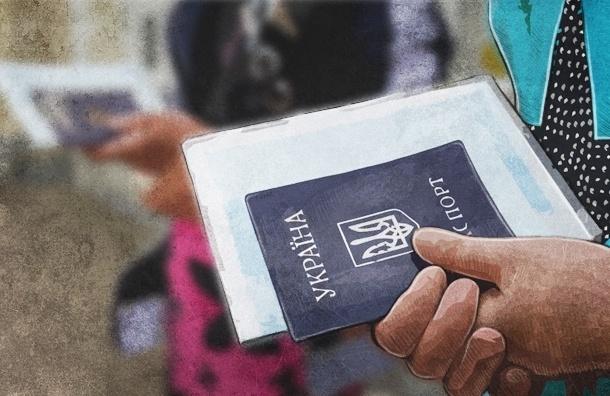 В Петербург приехали более 9000 украинских беженцев