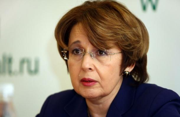 «Справедливая Россия» выдвинула Дмитриеву в губернаторы Петербурга