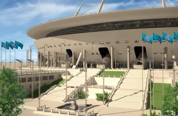 «Зенит» показал, как будет выглядеть арена на Крестовском острове