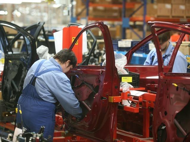 Завод General Motors, GM, Петербург, Шушары: Фото