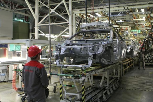 Завод Тойота Петербург: Фото