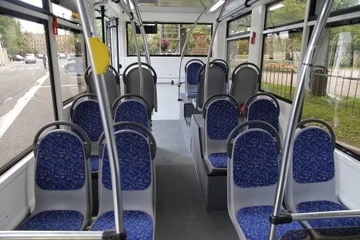 В Петербурге показали новые модели автобуса и троллейбуса: Фото