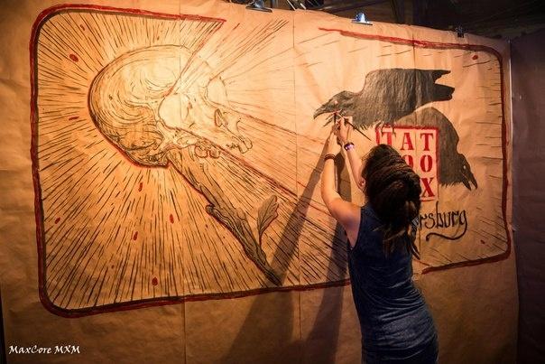 В Петербурге проходит фестиваль тату и боди-арта : Фото