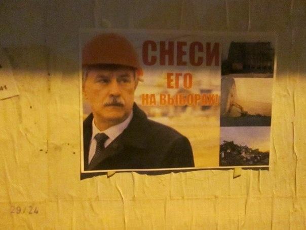 В Петербурге состоялась акция за «снос» губернатора Полтавченко: Фото