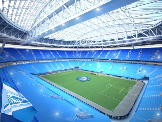 Будущий вид стадиона на Крестовском острове: Фото