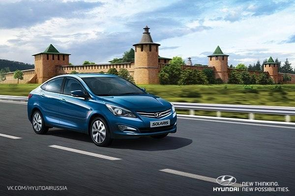 В Петербурге начали производство обновленного Hyundai Solaris: Фото