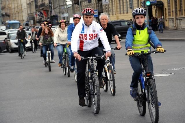 В Петербурге создадут 200 км велосипедных дорожек : Фото