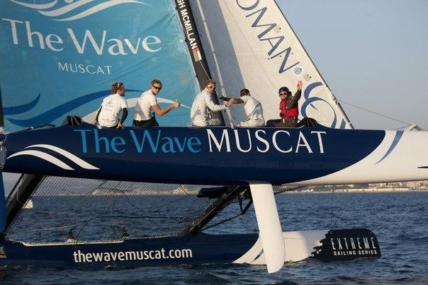 В Петербурге стартует легендарная парусная гонка Extreme Sailing Series : Фото
