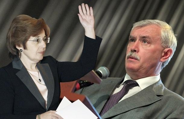Анонимус: Дмитриева – будущий губернатор Петербурга