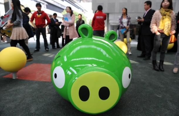 В Петербурге откроется парк семейного отдыха Angry Birds