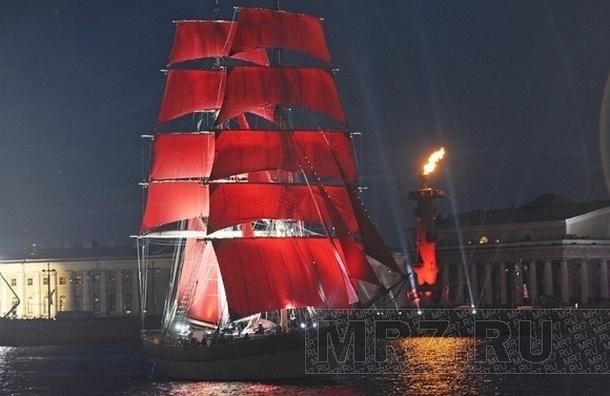 Билеты на «Алые паруса» в Петербурге продают за 5 тысяч рублей