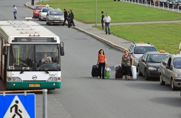 От метро «Московская» до «Пулково» начал ходить автобус-экспресс