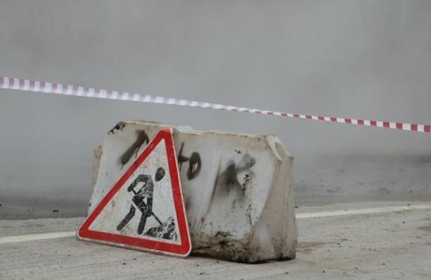 Во Фрунзенском районе произошел серьезный прорыв трубопровода