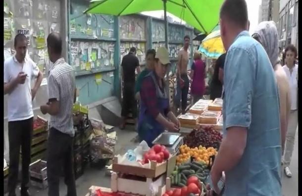 Полиция провела рейд после погрома у метро «Проспект Просвещения»