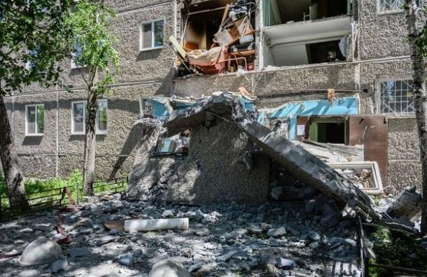 Четыре человека пострадали при взрыве газа в Екатеринбурге