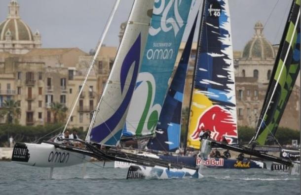 В Петербурге стартует легендарная парусная гонка Extreme Sailing Series