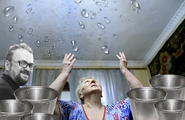 Соседи депутата Милонова требуют компенсаций за потоп