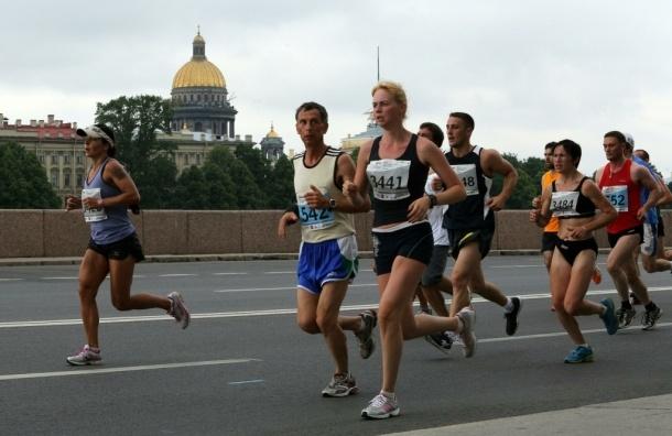 В марафоне «Белые ночи» победили кенийцы и россиянки