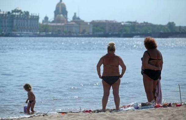 В Петербурге снова ожидается жара, но только на неделю