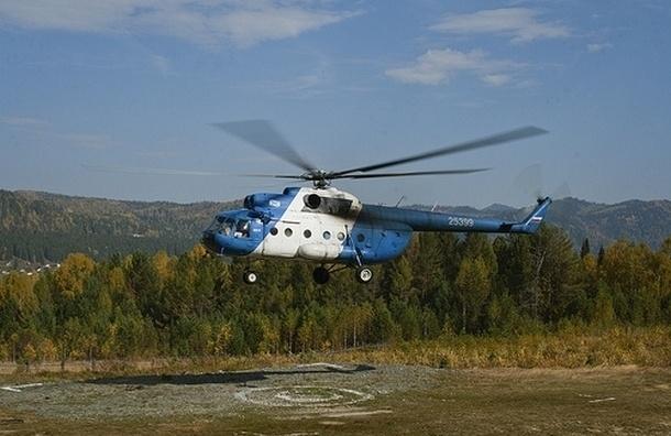 В Мурманской области разбился вертолет с чиновниками