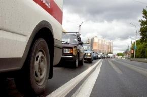 В аварии с автобусом на Комсомольской площади пострадал пассажир