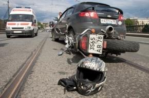 В крупном ДТП на Замшина погиб мотоциклист