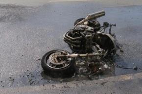 На Малоохтинском проспекте в результате ДТП погибла мотоциклистка