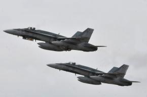СМИ: В Горловке сбит украинский истребитель Су-25