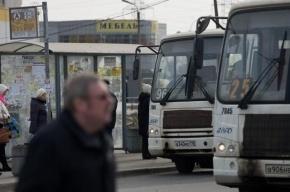 В Невском районе Петербурга работали неисправные маршрутки