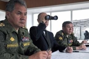 Путин приказал провести внезапную проверку боеготовности ЦВО