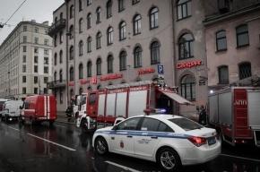На Лиговском тушили пожар по повышенному номеру сложности