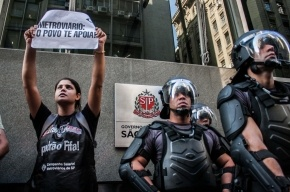 В день открытия Мундиаля в Бразилии проходят забастовки